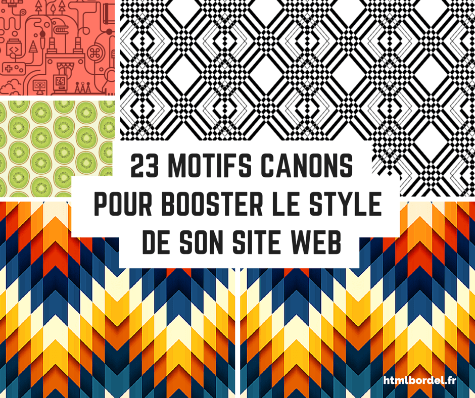 Selection de 23 web design patterns