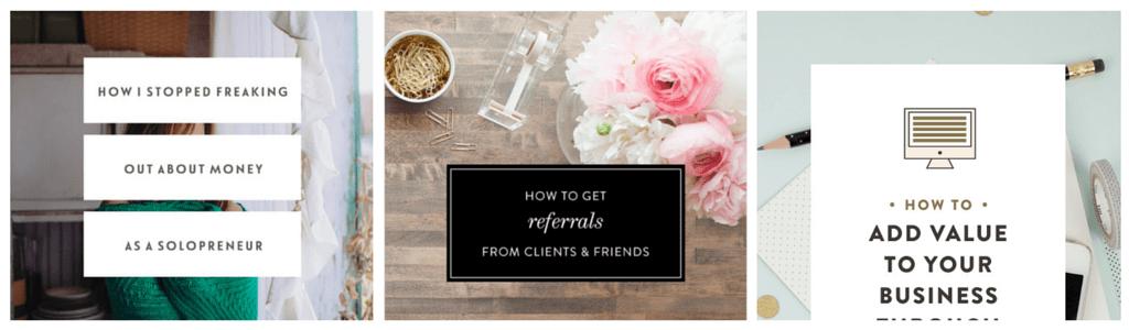 Apprends à créer un joli blog en stylisant les visuels de tes blog posts