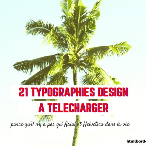 21 typographies design en 2016 à télécharger gratuitement